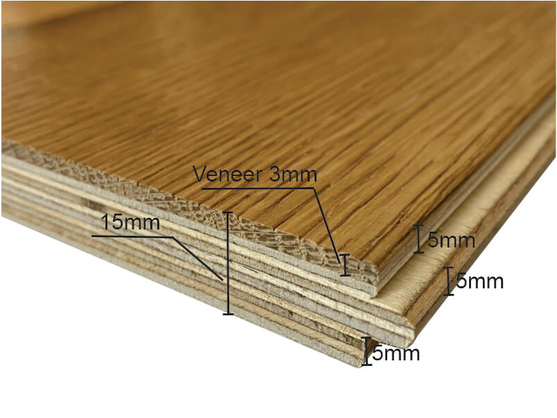 Ưu điểm sàn gỗ kỹ thuật
